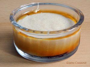 Petit gateaux de semoule vanille caramel