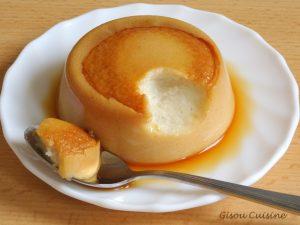 Petit gateauxde semoule vanille caramel