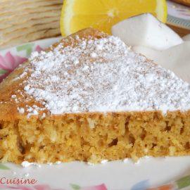 Gâteau Coco – Citron à la poêle