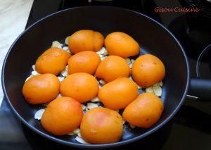 Gateau moelleux renversé cuisson dans la poele