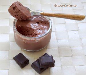 Mousse au chocolat agar
