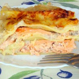 Lasagnes light aux deux Saumons
