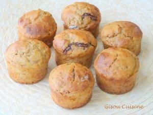 muffins coeur fondant choco