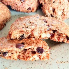 Cookies aux Noix et pépites de Chocolat