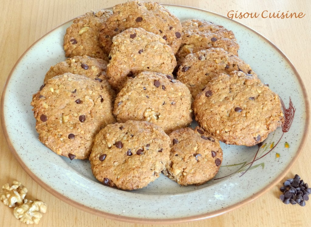 cookies noix et pepite choco