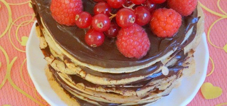 mille feuille crepe chocolat avoat