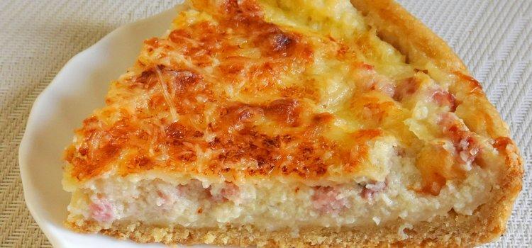 tarte à l'oignon light