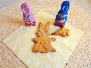 lapin croquant à la carotte