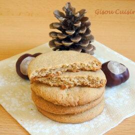 Biscuits sablés à la Châtaigne