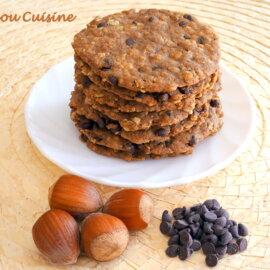 Cookies très fins aux pépites de Chocolat
