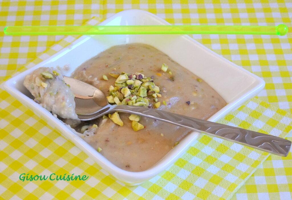 Crème pistache et noix de cajou