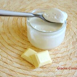 Mousse de crème à la noix de Coco